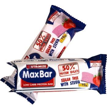 Max Bar with Stevia
